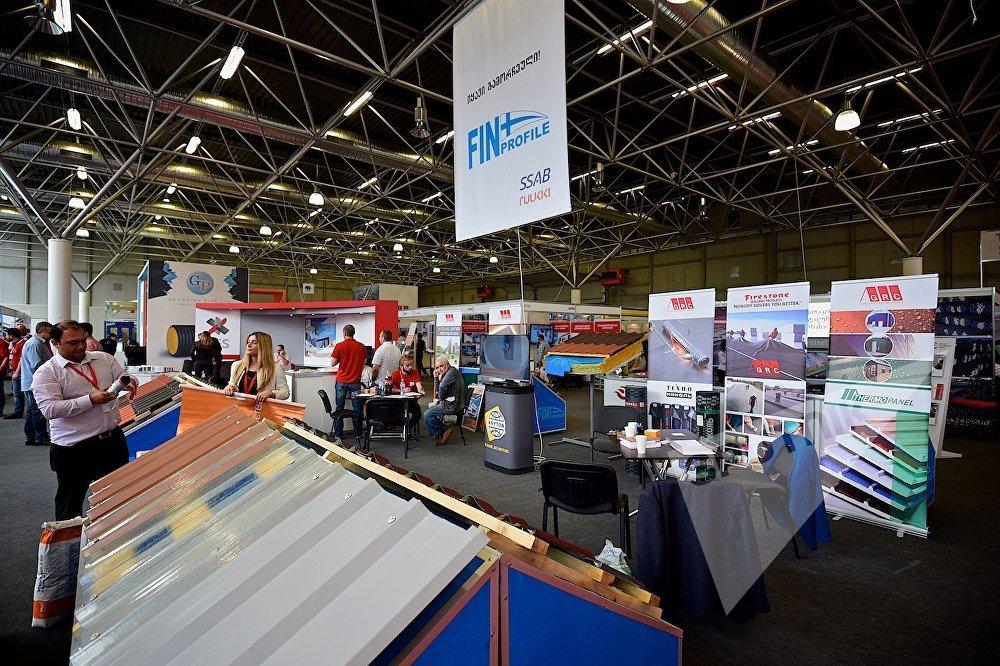 В 11-м павильоне выставочного центра Expo Georgia в ходе проведения Caucasus Build.