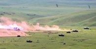 Учения роты ВС Грузии, получившей сертификат на участие силах быстрого реагирования НАТО