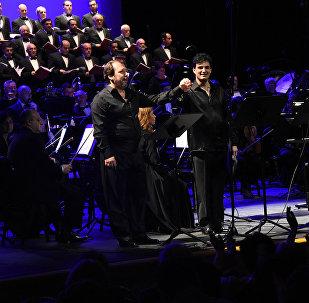 В память Верди - испанские и итальянские музыканты выступили в столице Грузии