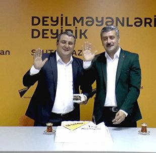 Авторы Давай, до свидания! посвятили мейхану Sputnik Азербайджан