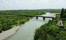 Мост на реке Ингур,