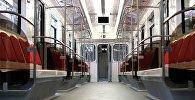 Обновленный поезд Тбилисского метро