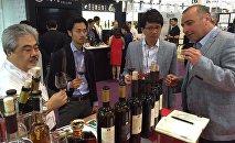 Грузинские вина на выставке в Гонконге