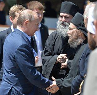 LIVE: Паломнический визит президента РФ Владимира Путина на Афон