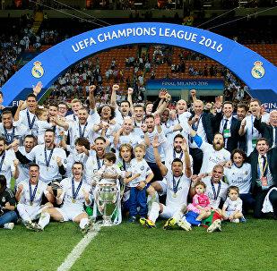 Футбол. Лига чемпионов. Финал. Матч Реал - Атлетико
