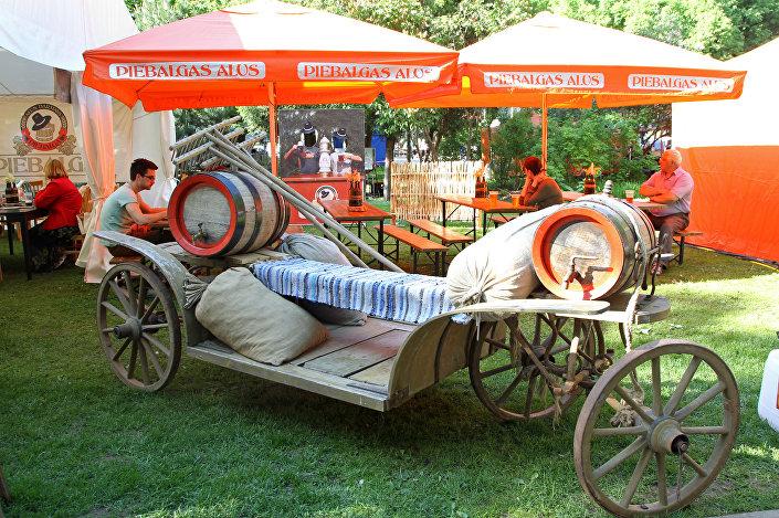 На фестивале пива Latviabeerfest 2016 в Риге