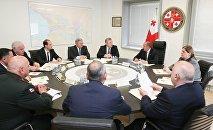 Заседание Совета безопасности Грузии
