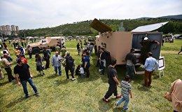 Военная выставка, организованная Министерством обороны страны