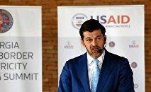 Каха Каладзе на Саммите трансграничной торговли электроэнергией