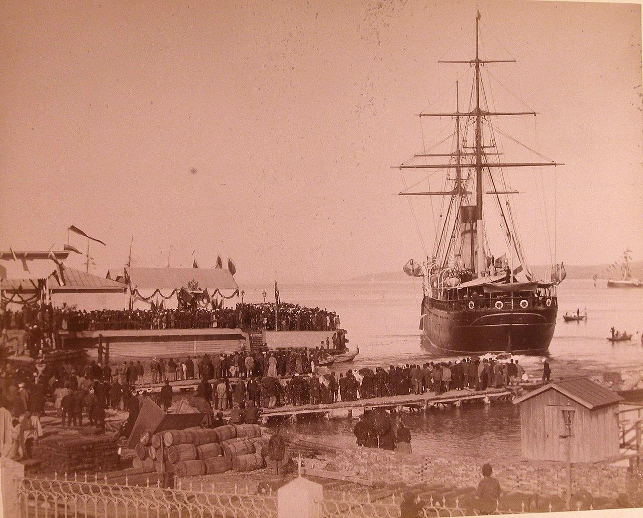 Встреча Александра III в Батуми