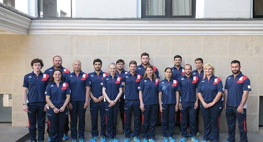 Олимпийская сборная Грузии в новой форме