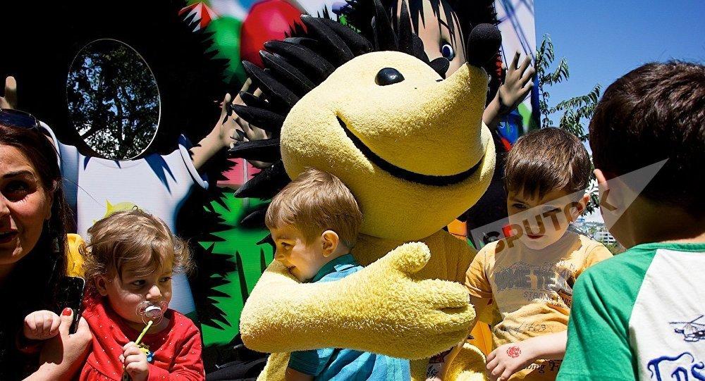 Праздник для детей в Тбилисском зоопарке