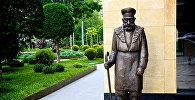 Памятник тбилисскому дворнику - достопримечательности Тбилиси