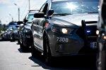 Полицейские автомобили Ford - Празднование Дня Полиции в Грузии