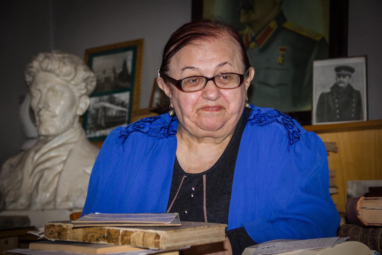 Сотрудница обсерватории Дали Абутидзе