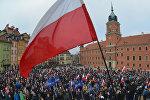 Акция в Варшаве