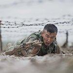 Бойцы спецназа Скорпион во время экзамена за зеленый берет