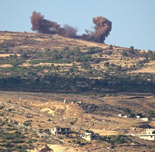 Результаты авиаударов по территории Сирии. Архивное фото