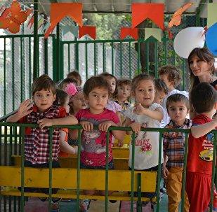 Дети, детский сад