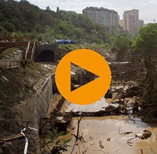 Наводнение в Тбилиси. Как это было ЛОНГРИД ГРУЗИНСКАЯ ВЕРСИЯ