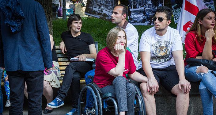 Развлекательная программа в парке с участием лиц с ОВЗ