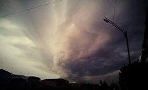 Сильный ветер и ураган
