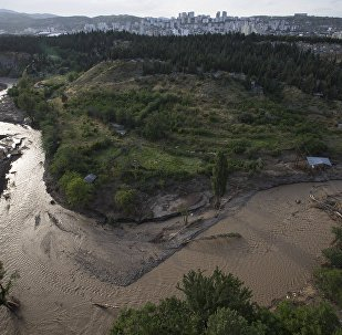 მდინარე ვერე თბილისში