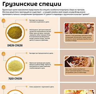 ТОП-5 ПРИПРАВ ГРУЗИНСКОЙ КУХНИ