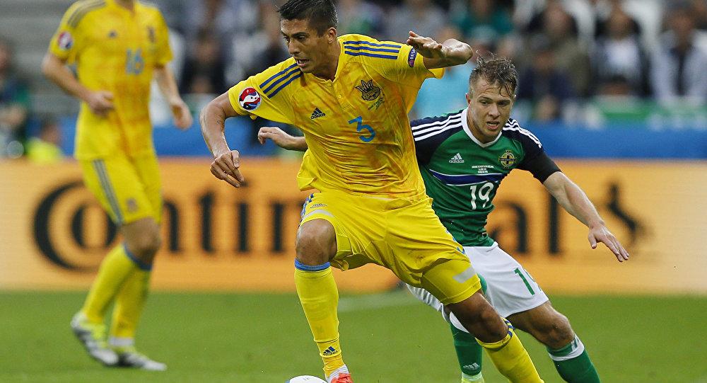 Футбол. Чемпионат Европы - 2016. Матч Украина - Северная Ирландия