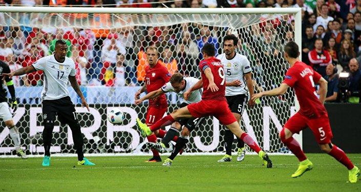 Футбол. Чемпионат Европы - 2016. Матч Германия - Польша