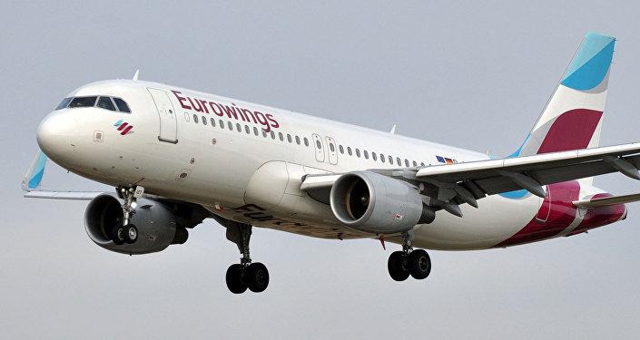 Самолет лоукостера Eurowings