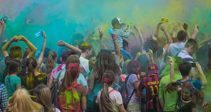 Фестиваль красок ColorFest в Минске