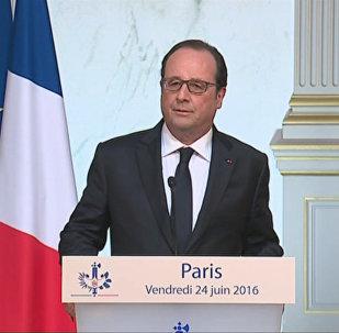 Олланд, Меркель и Туск прокомментировали решение Великобритании выйти из ЕС