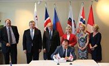 Подписание соглашения о свободной торговле между Грузией и EFTA