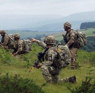 Военные Грузии, Канады и Великобритании провели совместные учения