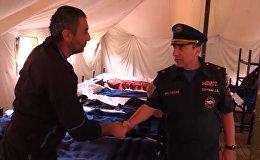 Глава МЧС РФ по Северной Осетии осмотрел лагеря на Военно-Грузинской дороге
