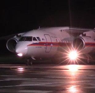 Ан-148 доставил в Ереван застрявших на Военно-Грузинской дороге
