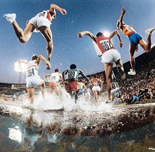 Бег с препятствиями на Олимпиаде в Москве