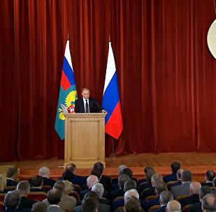 Путин на встрече с послами: Украина, отношения с Турцией и Brexit