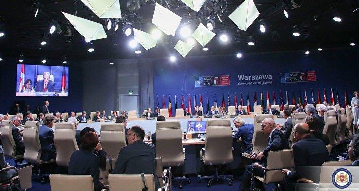Заседание комиссии Грузия--НАТО