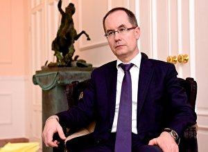 Глава Секции интересов России при Посольстве Швейцарии в Грузии Вадим Горелов