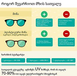 Как правильно подобрать солнцезащитные очки - ГРУЗИНСКАЯ ВЕРСИЯ