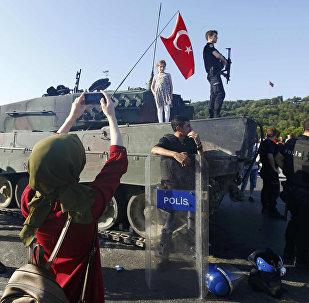 გადატრიალების მცდელობა თურქეთში