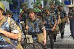 Полиция Алматы провела спецоперацию в доме подозреваемого в теракте