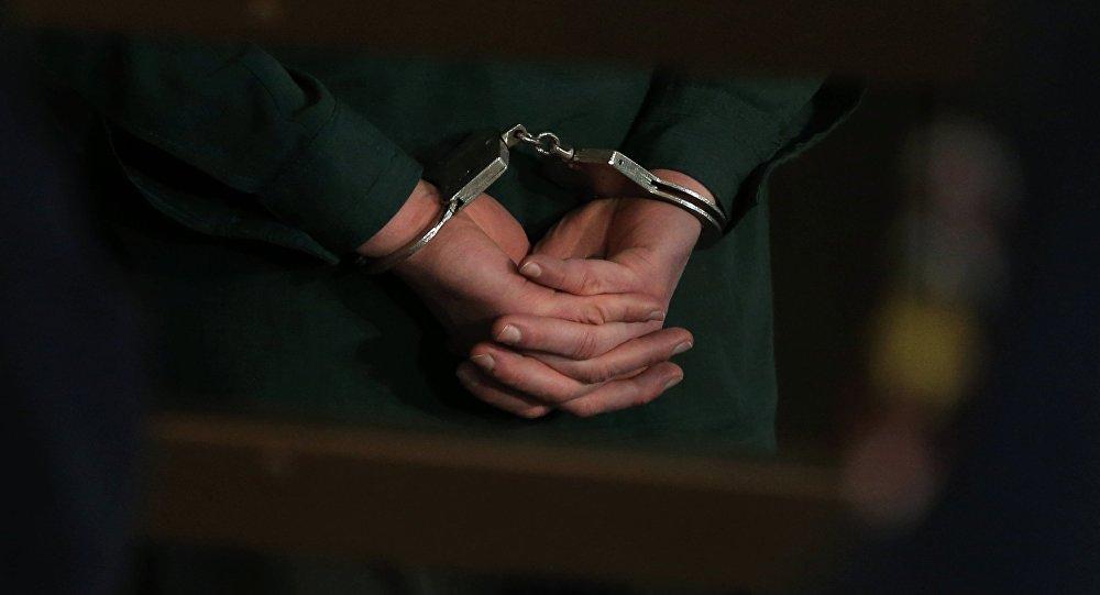 Арестованный. Архивное фото.