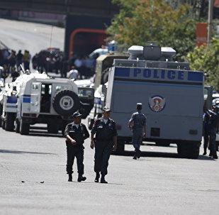 თავდასხმა პოლიციაზე ერევანში