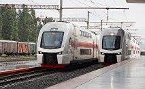 Новые двухэтажные поезда Тбилиси-Батуми