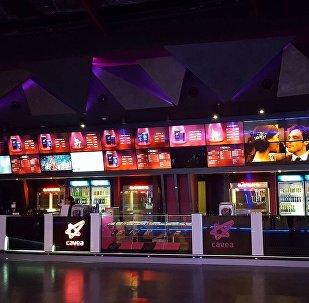 Кинотеатр в Тбилиси