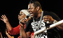 Известный американский хип-хоп-исполнитель Баста Раймс