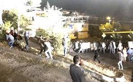Полицейские в Ереване разогнали протестующих газом и светошумовыми гранатами